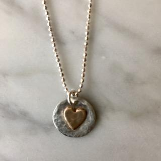 Radiate Love Heart Necklace