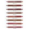 Logona Double Lipstick Pencil Swatches