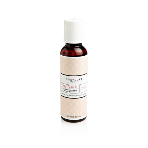 One Love Organics Easy Does It Foaming Cleanser TRAVEL
