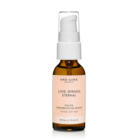 ONE LOVE ORGANICS - Love Springs Eternal Youth Preservation Serum - The Nature of Beauty