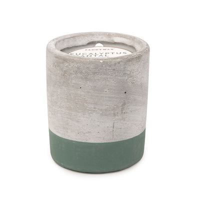 Paddywax Urban Concrete 3.5oz Candle Eucalyptus and Santal
