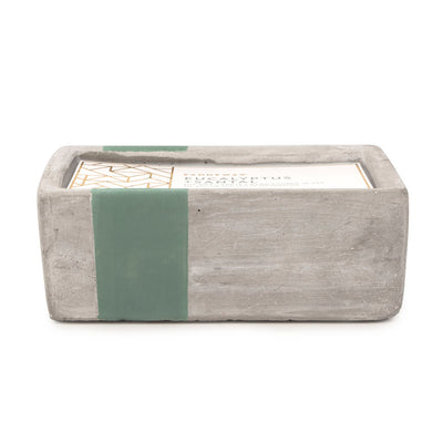 Paddywax Urban Concrete 8oz Candle Eucalyptus and Santal