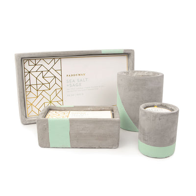 Paddywax Urban Concrete Candle Collection