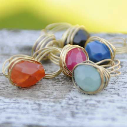 WORLD FINDS Agate Ring [product_variant_title]