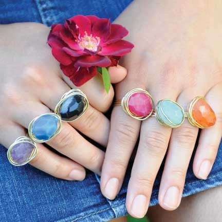 WORLD FINDS - Agate Ring - The Nature of Beauty