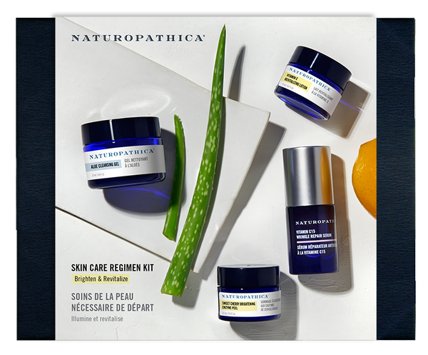 Naturopathica - Brighten & Revitalize Regimen Kit - The Nature of Beauty