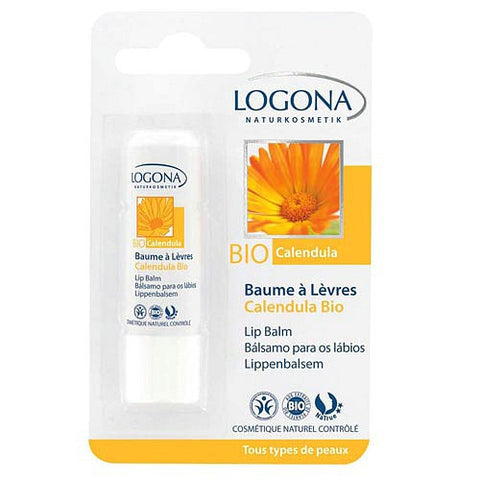 LOGONA - Lip Balm Calendula - The Nature of Beauty