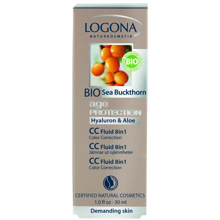 LOGONA - CC Fluid 8 in 1 - The Nature of Beauty