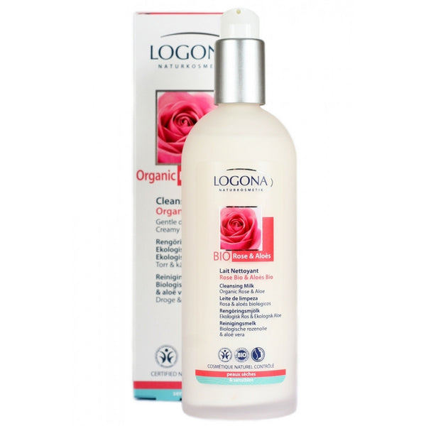 Logona Organic Rose & Aloe Cleansing Milk