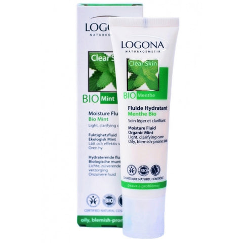 LOGONA - Mint Moisture Fluid - The Nature of Beauty