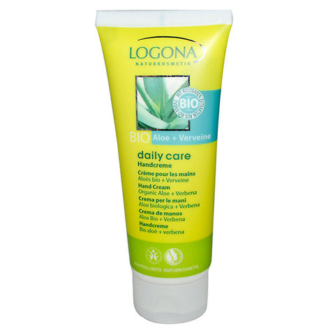 LOGONA - Daily Care Hand Cream Aloe + Verbena - The Nature of Beauty