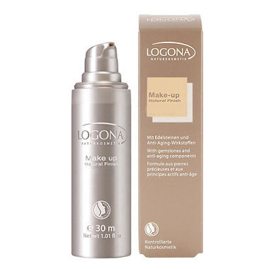 LOGONA - Make-Up Natural Finish - The Nature of Beauty