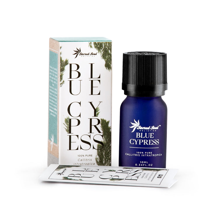 Blue Cypress Essential Oil - Sacred Soul Holistics