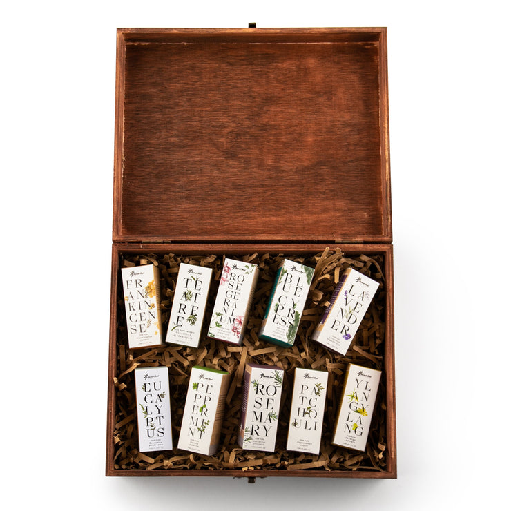 Essential Oils 10 Set - Sacred Soul Holistics