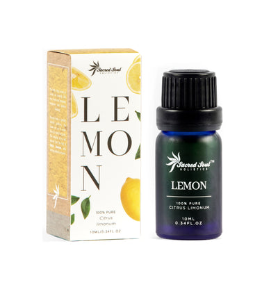 Lemon Essential Oil - Sacred Soul Holistics