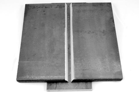 "3/8"" Carbon Steel Plate Coupon Set"