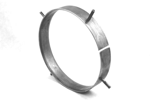 "6"" Carbon Steel Backing Ring (Long Spacer Style)"