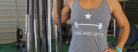 WOMEN'S COME AND LIFT IT™ TANK TOPS