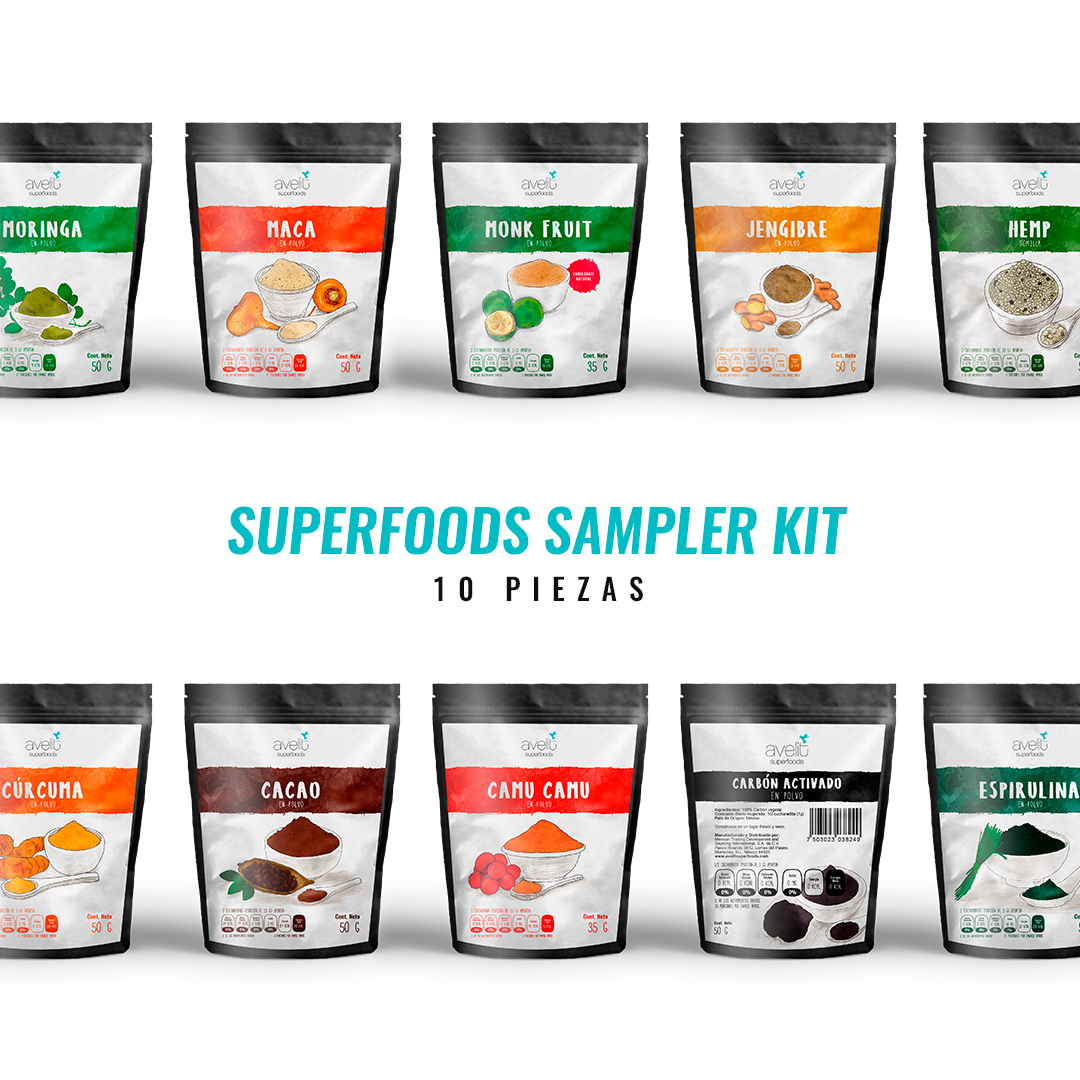 Superfoods Sampler Kit  (Envío Gratis)
