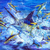 Blue Marlin Fish  by Artist Haiyan
