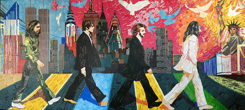 The Beatles - Abbey Road  by Artist Haiyan
