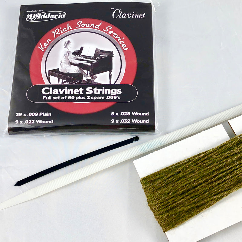 Clavinet String Set by D'Addario: New and Improved!