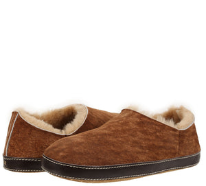 Merlino Stone Washed Cognac Slipper slipper Ross & Snow