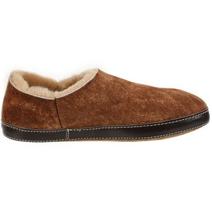 Merlino Stone Washed Cognac slipper Ross & Snow