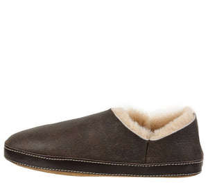 Merlino Rugged Brown Slipper slipper Ross & Snow