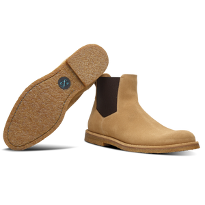 Filippo Wheat Leather Chelsea Boot