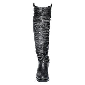 Elena Weatherproof Leather Black/Silver boot Ross & Snow
