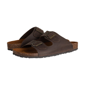 Evan Terra Open Toe Buckle Sandal