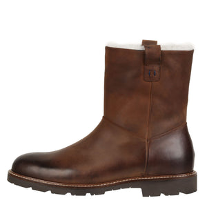 Kenneth Weatherproof Leather Brown Boot Boot Ross & Snow 7
