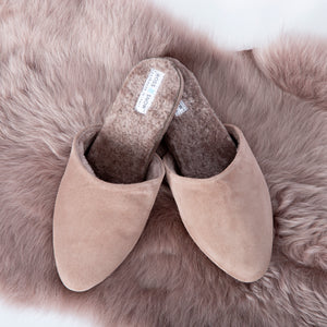 Julia Desert Rose Shearling Lined Slipper
