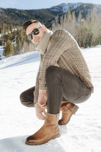 Kenneth Weatherproof Leather Brown Boot Boot Ross & Snow