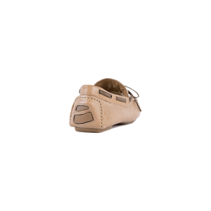 Davide Taupe Waterproof Moccasin