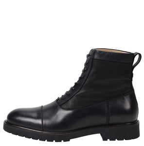 Riccardo Weatherproof Leather Black Boot boot Ross & Snow 7