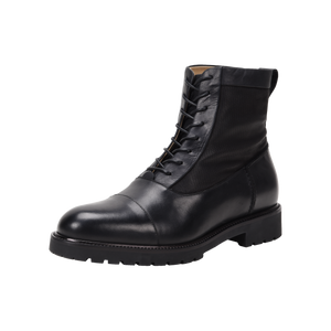 Riccardo Black Leather Boot