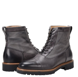 Riccardo Weatherproof Leather Charcoal Boot boot Ross & Snow