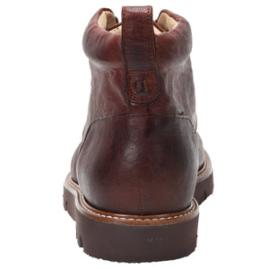 Stefano Weatherproof Leather Cognac boot Ross & Snow