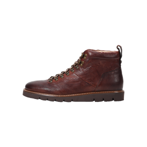 Stefano Cognac Leather Boot