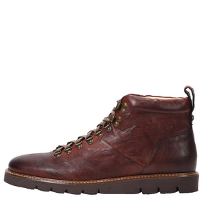 Stefano Weatherproof Leather Cognac Boot boot Ross & Snow 7