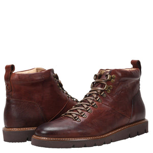 Stefano Weatherproof Leather Cognac Boot boot Ross & Snow