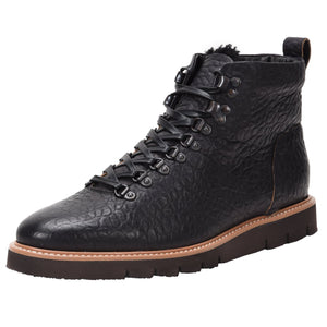 Stefano Weatherproof Leather Rugged Black boot Ross & Snow