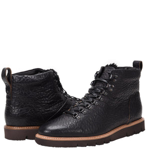 Stefano Weatherproof Leather Rugged Black Boot boot Ross & Snow