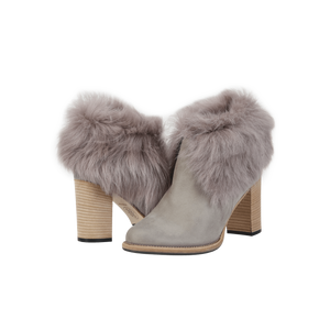 Angelina Desert Rose Shearling Lined Bootie