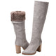 Michela Morning Dove Shearling Lined Tall Boot