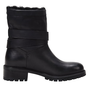 Cristiana Weatherproof Leather Black boot Ross & Snow