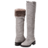Elena Morning Dove Shearling Lined Tall Boot