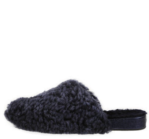 Julia Exposed Frosted Indigo Slipper slipper Ross & Snow 5